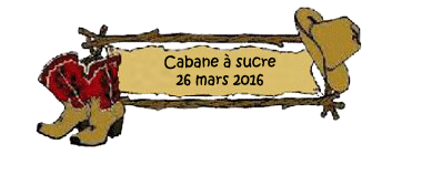 2016-03-26 - Cabane à sucre